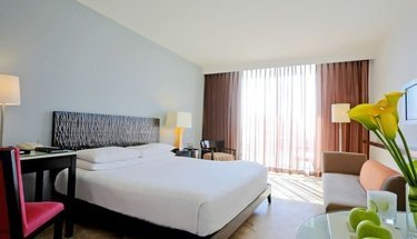 Chambre deluxe king Hôtel Krystal Grand Punta Cancún Cancún