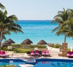 Piscine Hôtel Krystal Grand Punta Cancún Cancún