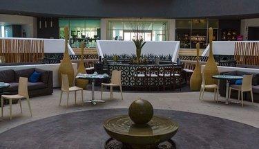 Lobby bar Hôtel Krystal Grand Punta Cancún Cancún