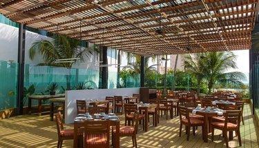 Terrasse restaurant Hôtel Krystal Grand Punta Cancún Cancún