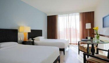 Chambre double deluxe Hôtel Krystal Grand Punta Cancún Cancún