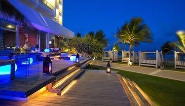 Terrasse lounge Hôtel Krystal Grand Punta Cancún Cancún