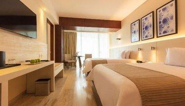 Chambre Hôtel Krystal Grand Punta Cancún Cancún